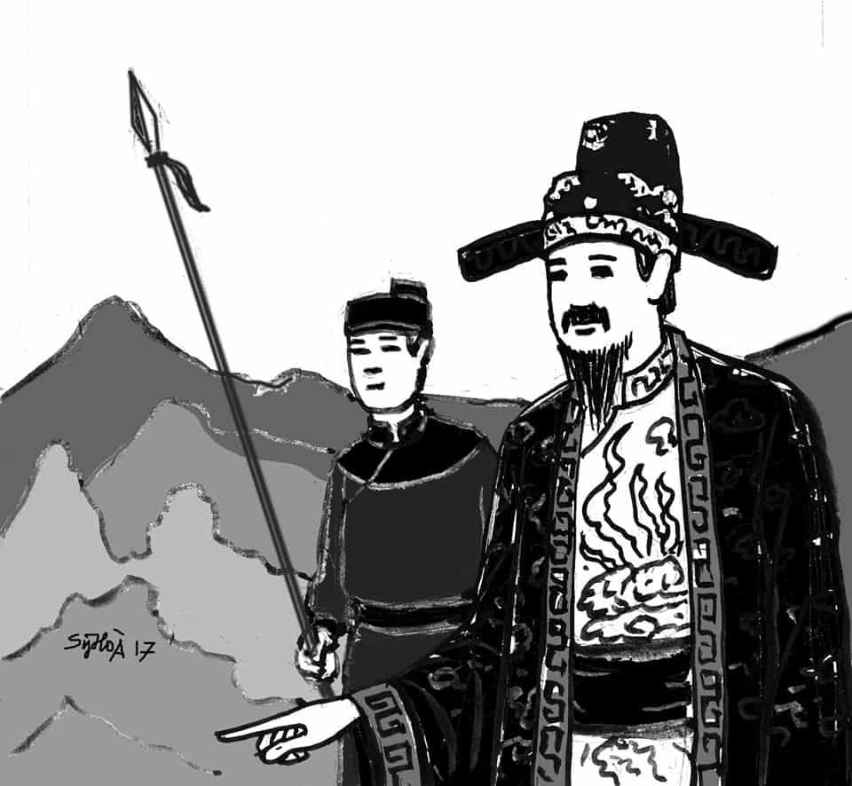 Nguyễn Bá Lân làm quan Đốc trấn Cao Bằng