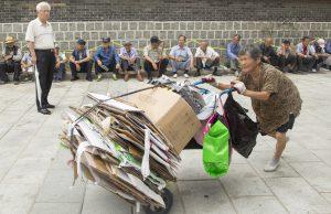 Người già nghèo khổ ở Hàn Quốc