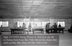 Ngày 27/7/1953: Hiệp định giúp chấm dứt cuộc chiến tranh trên bán đảo Triều Tiên được ký kết